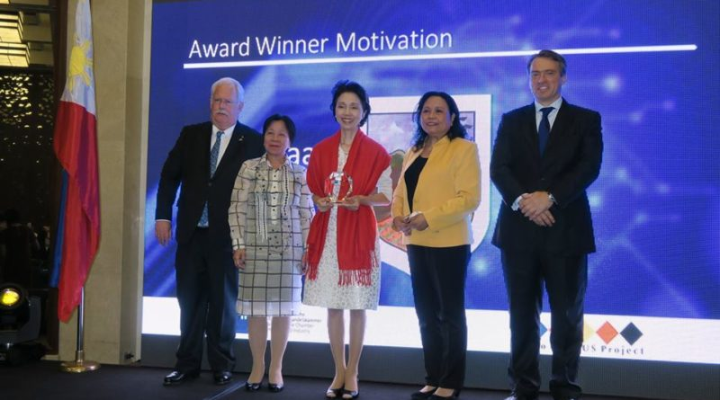 Punlaan receives the Vocational Training Award 2015