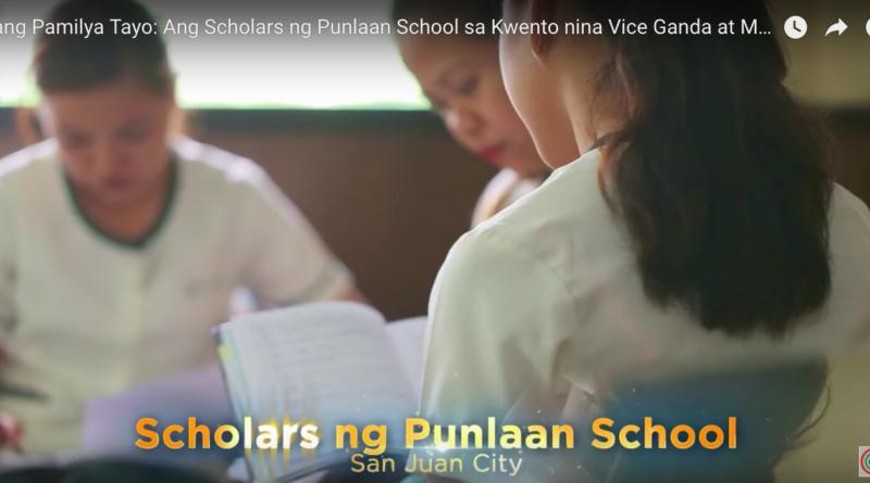 Isang Pamilya Tayo: Ang Scholars ng Punlaan School sa Kwento nina Vice Ganda at Ms. Charo Santos